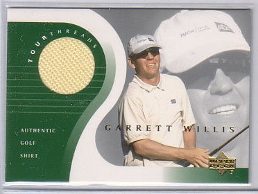 2001 Upper Deck Tour Threads #TTGW Garrett Willis