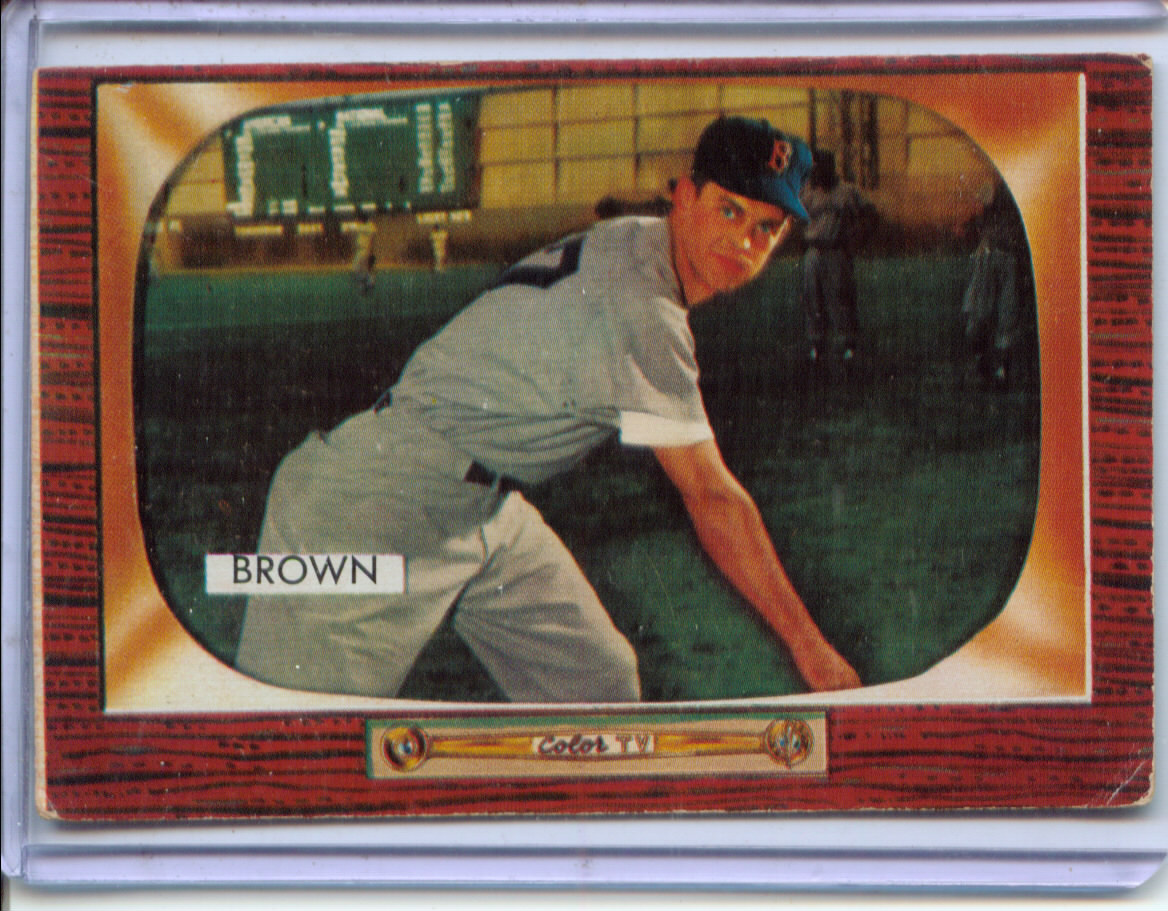 1955 Bowman #221 Hector Brown