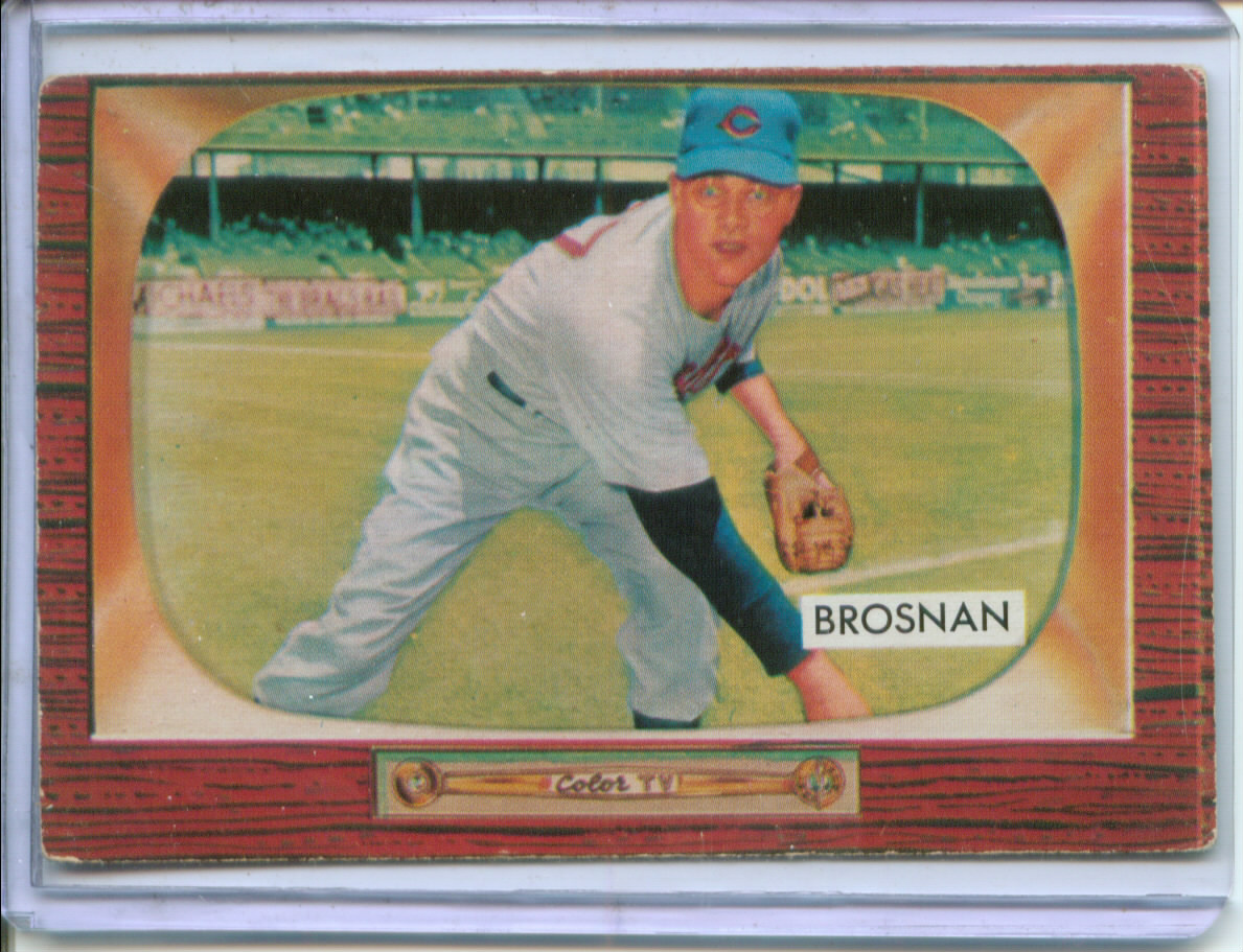 1955 Bowman #229 Jim Brosnan RC