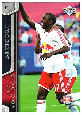 2007 Upper Deck MLS #80 Jozy Altidore RC