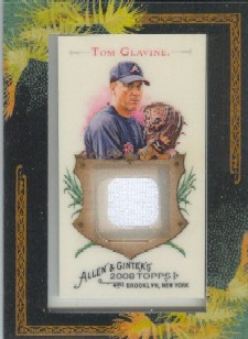 2008 Topps Allen and Ginter Relics #TG Tom Glavine Jsy C