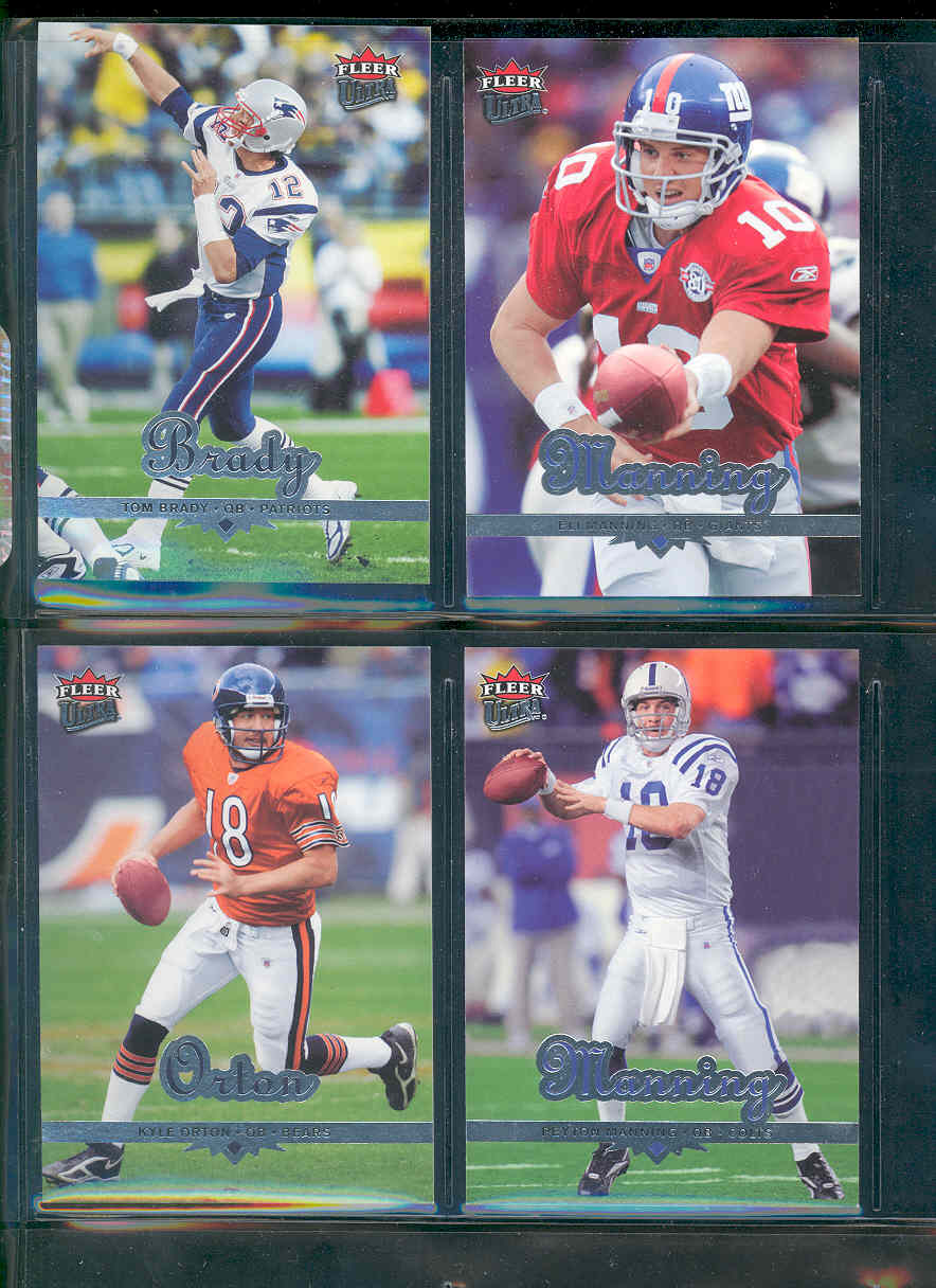 2006 Ultra Football SEt 1-150 Loaded w/ Brett Favre Peyton Manning Donovan McNabb Tom Brady Ben Rothlisberger Kyle Orton