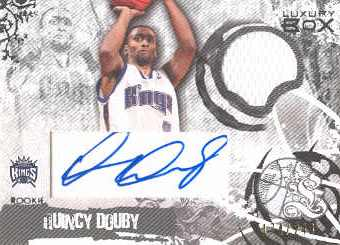 2006-07 Topps Luxury Box Rookie Relics Autographs #QD Quincy Douby