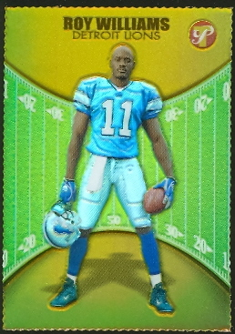 2004 Topps Pristine Gold Refractors #142 Roy Williams U