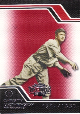 2008 Topps Triple Threads #230 Christy Mathewson