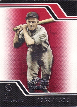 2008 Topps Triple Threads #231 Mel Ott