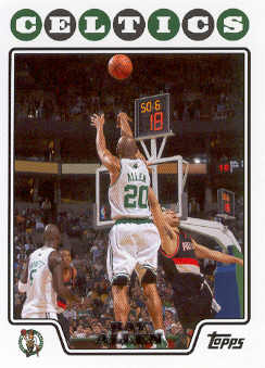 2008-09 Topps #20 Ray Allen