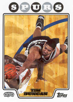 2008-09 Topps #21 Tim Duncan