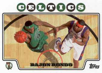 2008-09 Topps #65 Rajon Rondo