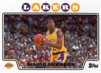 2008-09 Topps #174 Magic Johnson