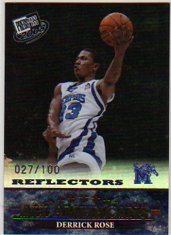 2008 Press Pass Reflectors Holofoil #45 Derrick Rose AA