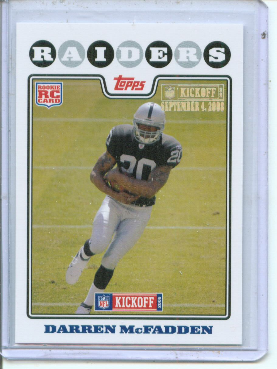 2008 Topps Kickoff Silver Holofoil #178 Darren McFadden