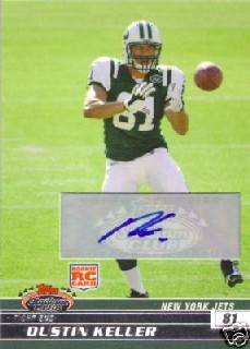 2008 Stadium Club Rookie Autographs #134 Dustin Keller C