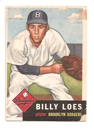 1953 Topps #174 Billy Loes