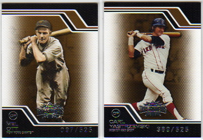 2008 Topps Triple Threads Sepia #231 Mel Ott