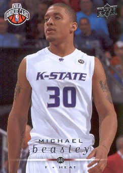 2008-09 Upper Deck #260 Michael Beasley RC
