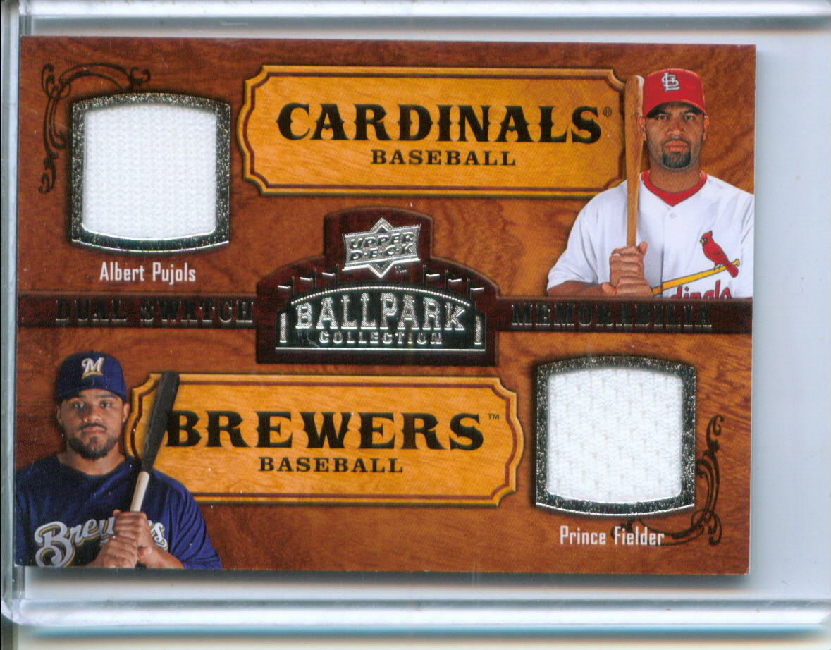 2008 Upper Deck Ballpark Collection #176 Albert Pujols/Prince Fielder