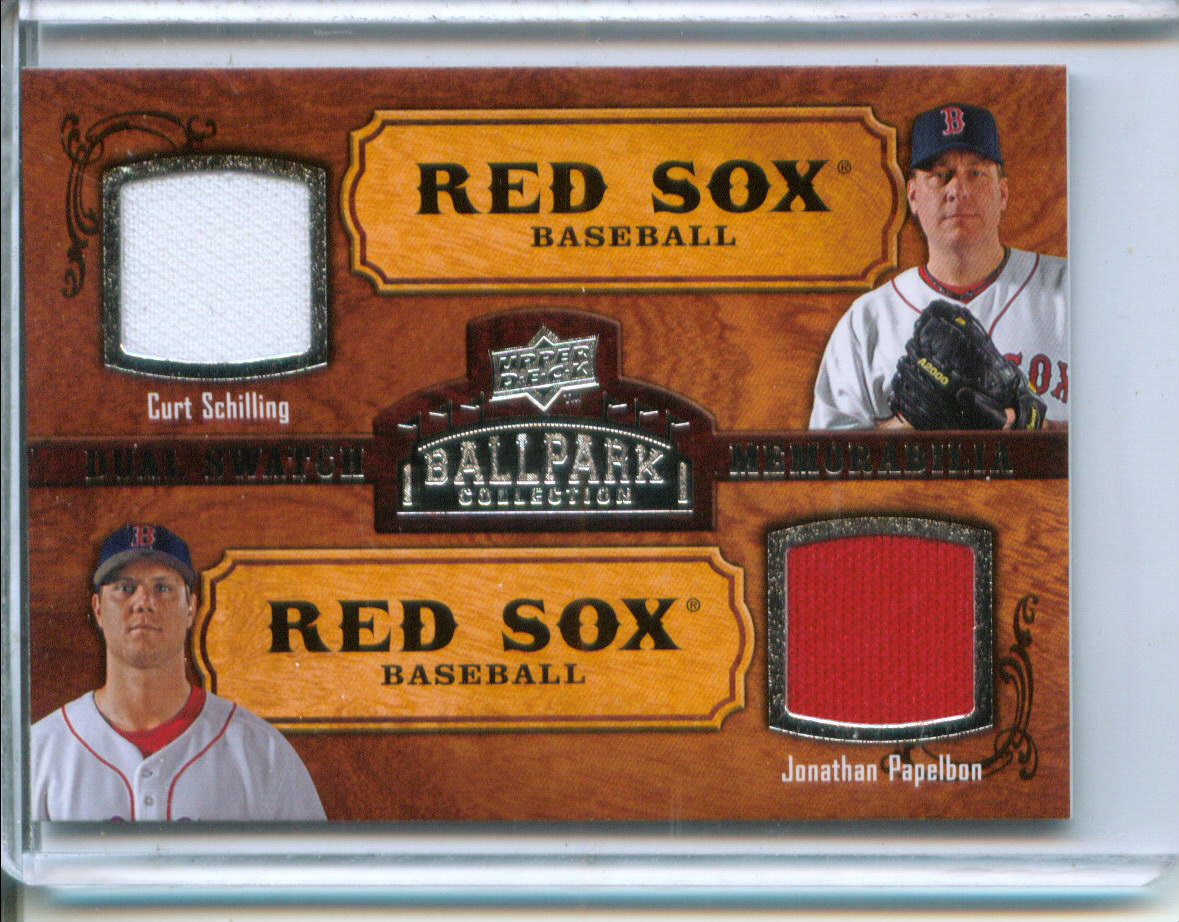 2008 Upper Deck Ballpark Collection #191 Curt Schilling/Jonathan Papelbon