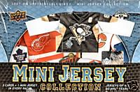 2007 - 08 ( 2008 ) Upper Deck Mini Jersey Hockey Factory Sealed HOBBY Box - 18 Mini Replica Jersey ( Possible Autographed Versions ) Cards Per Box - Possible Sidney Crosby Carey Price - In Stock Now