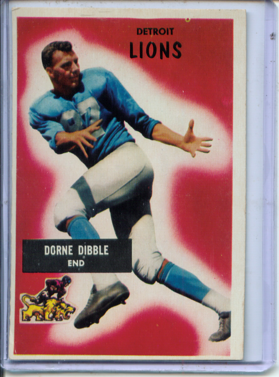 1955 Bowman #4 Dorne Dibble RC