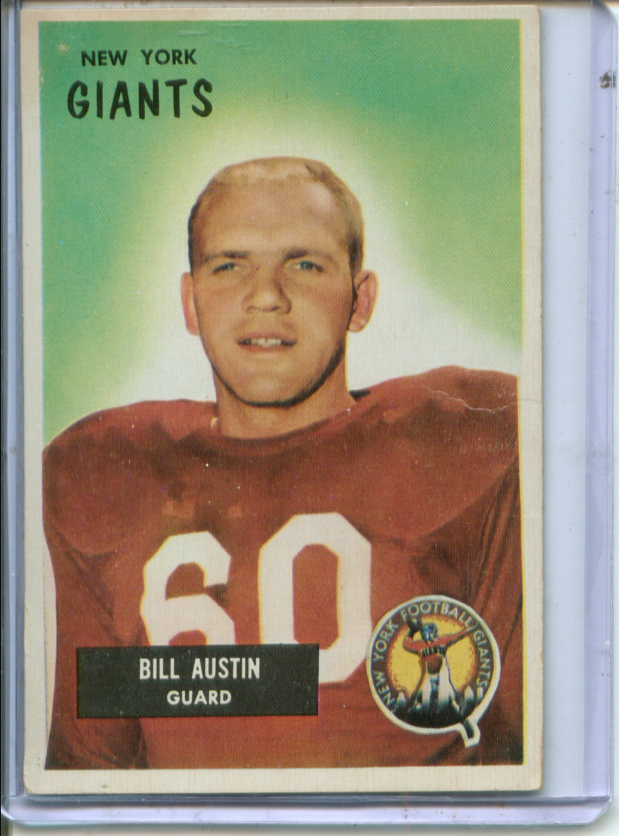 1955 Bowman #11 Bill Austin