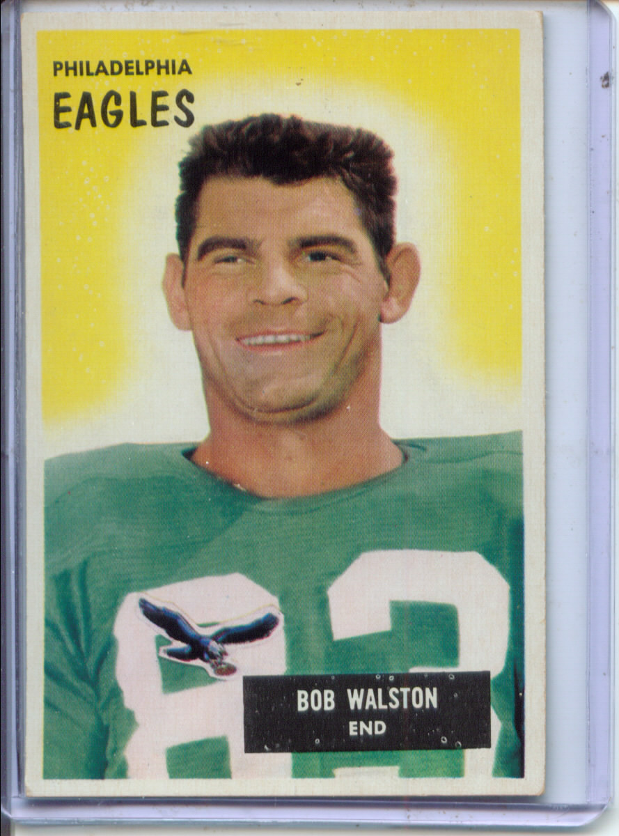 1955 Bowman #13 Bobby Walston