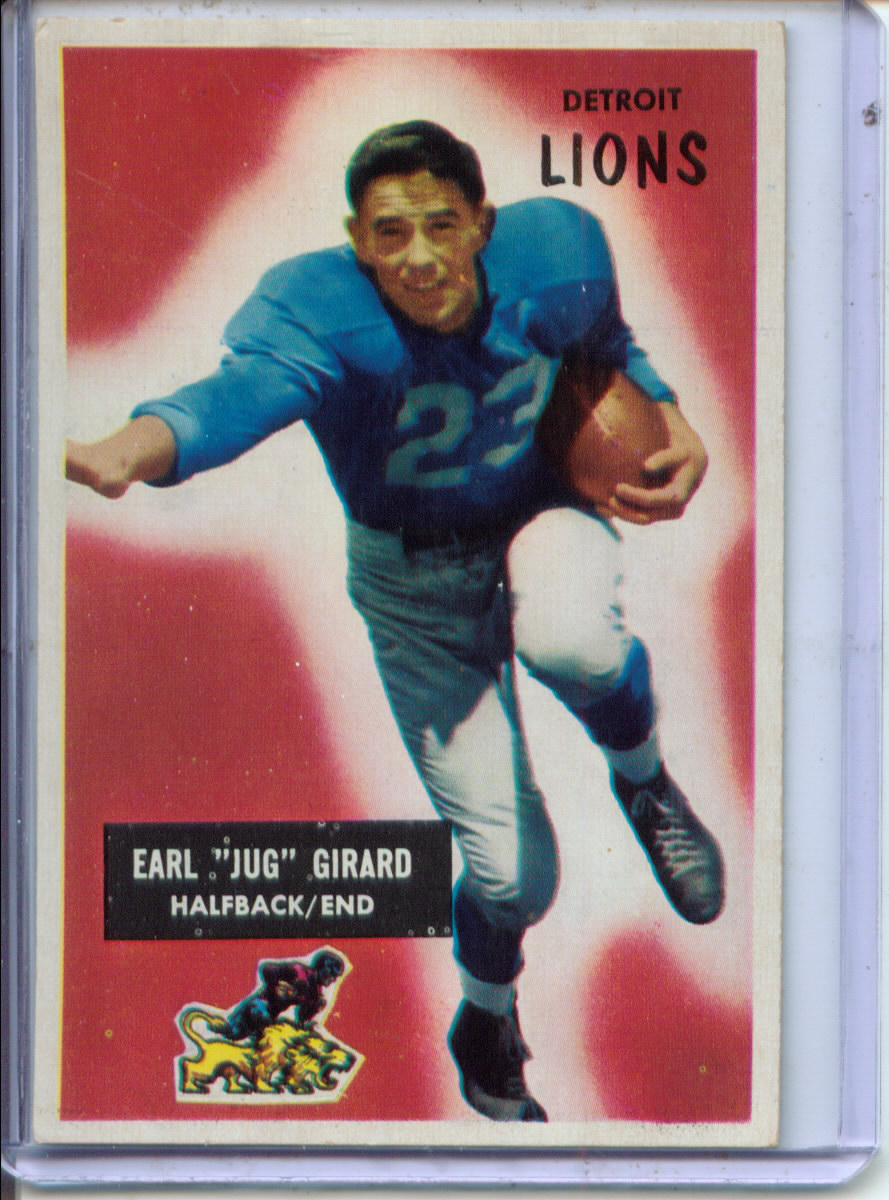 1955 Bowman #15 Jug Girard