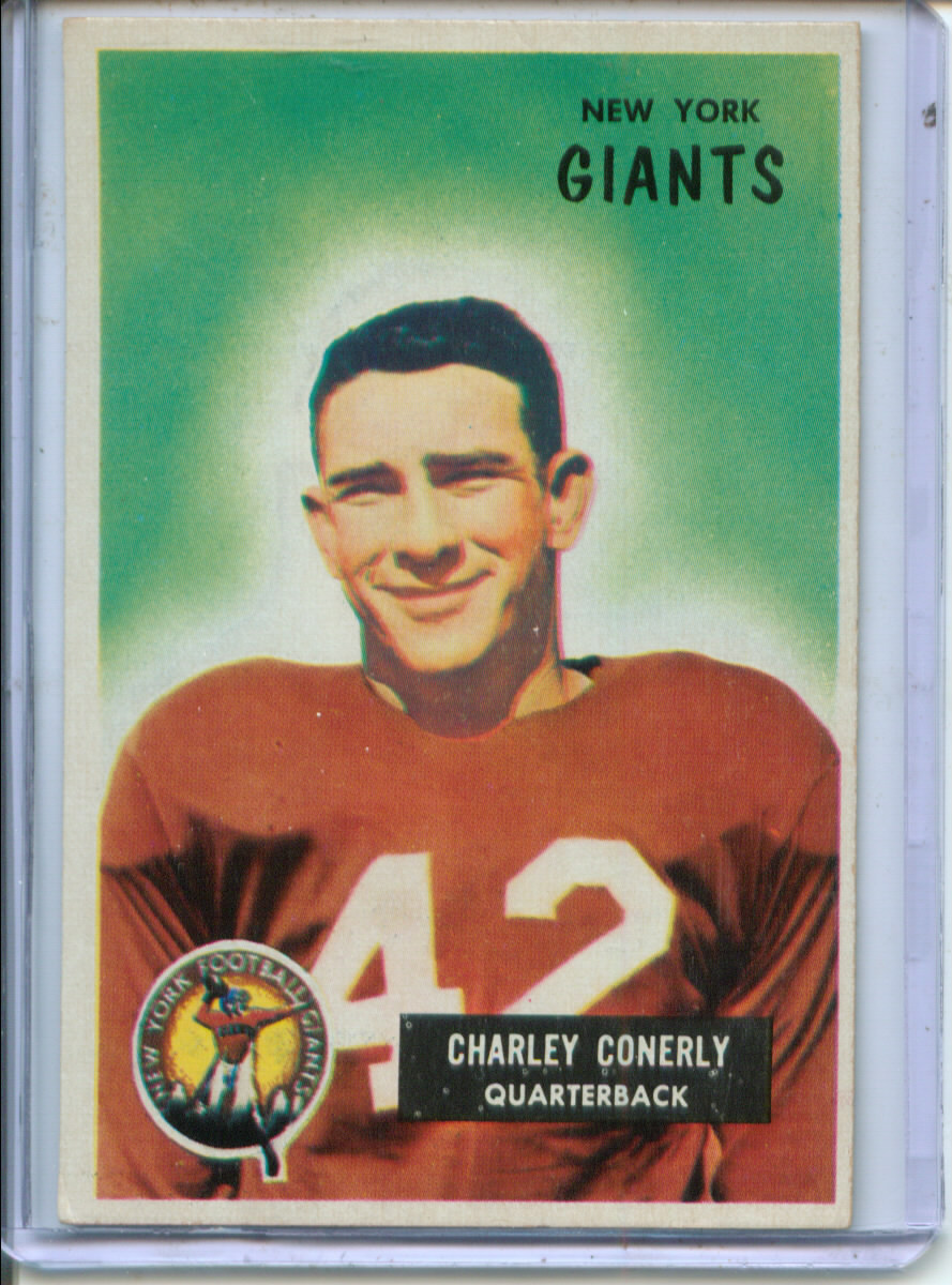 1955 Bowman #16 Charley Conerly