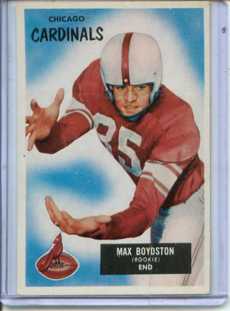 1955 Bowman #18 Max Boydston RC