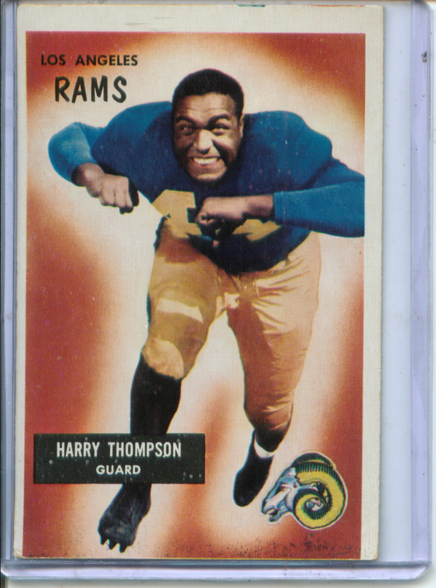 1955 Bowman #23 Harry Thompson