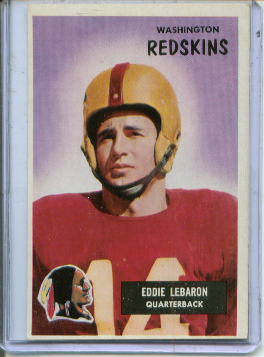1955 Bowman #26 Eddie LeBaron