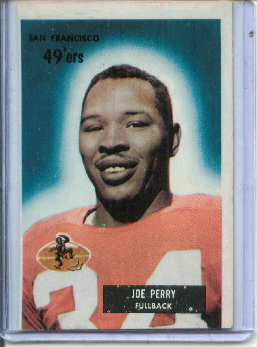 1955 Bowman #44 Joe Perry