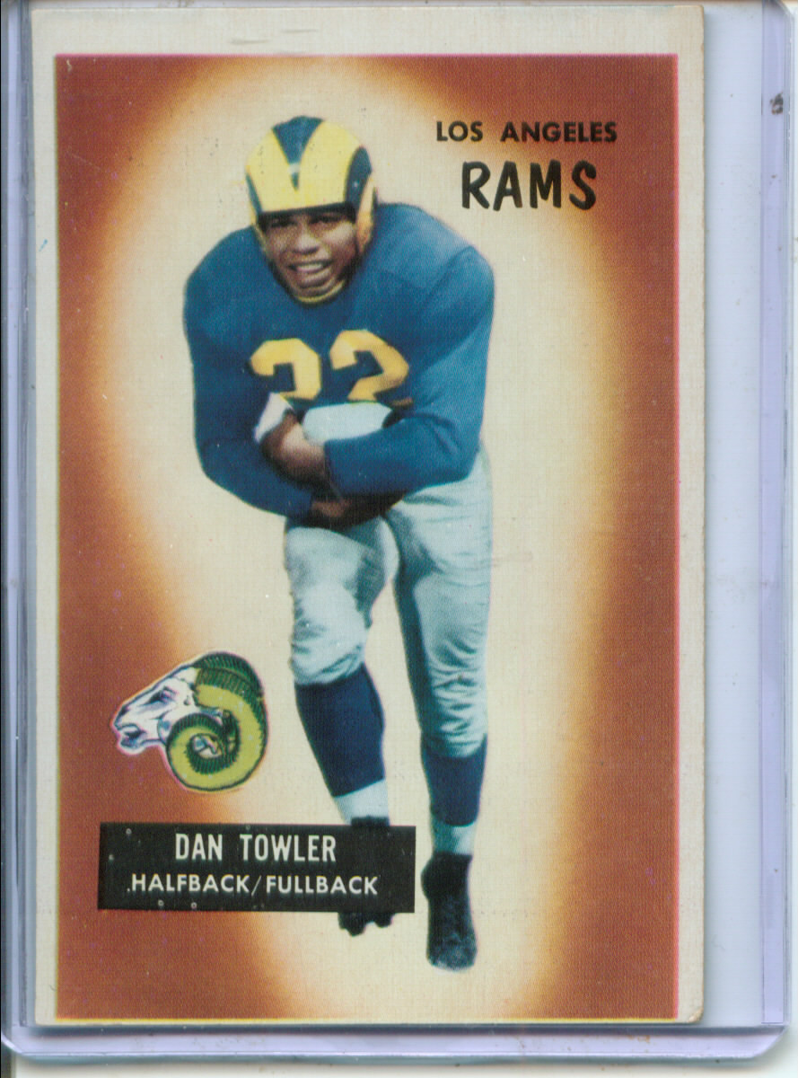 1955 Bowman #47 Dan Towler