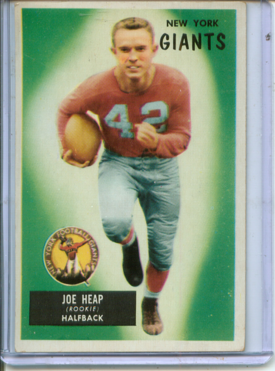 1955 Bowman #55 Joe Heap RC
