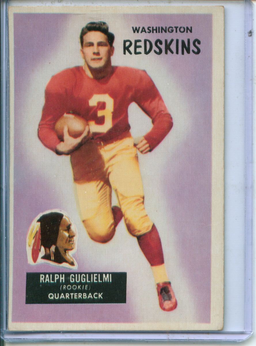 1955 Bowman #61 Ralph Guglielmi RC