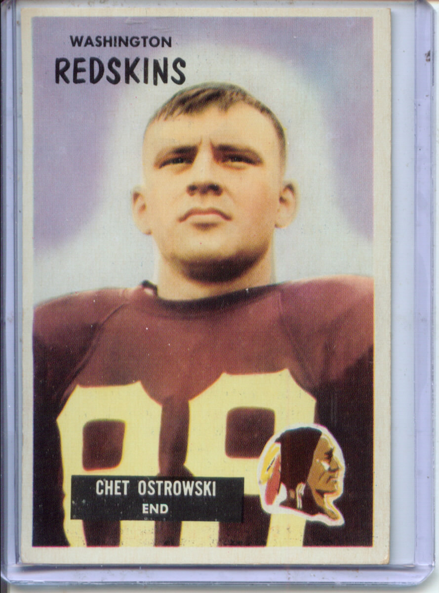 1955 Bowman #64 Chet Ostrowski