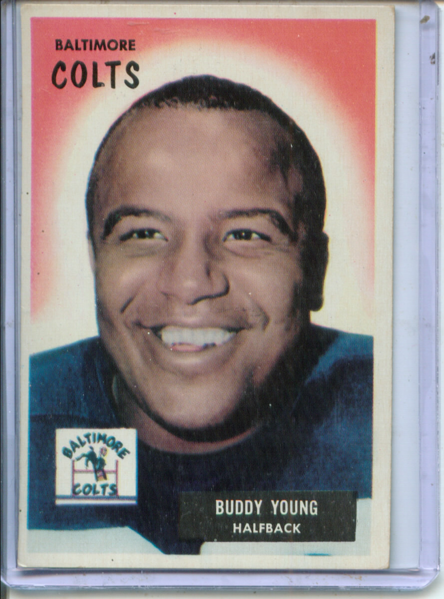 1955 Bowman #65 Buddy Young