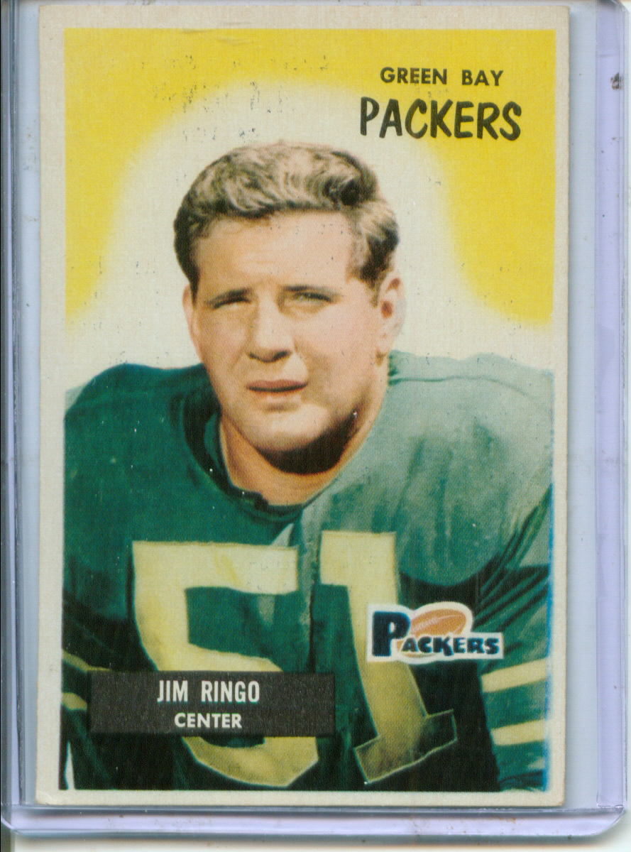 1955 Bowman #70 Jim Ringo RC
