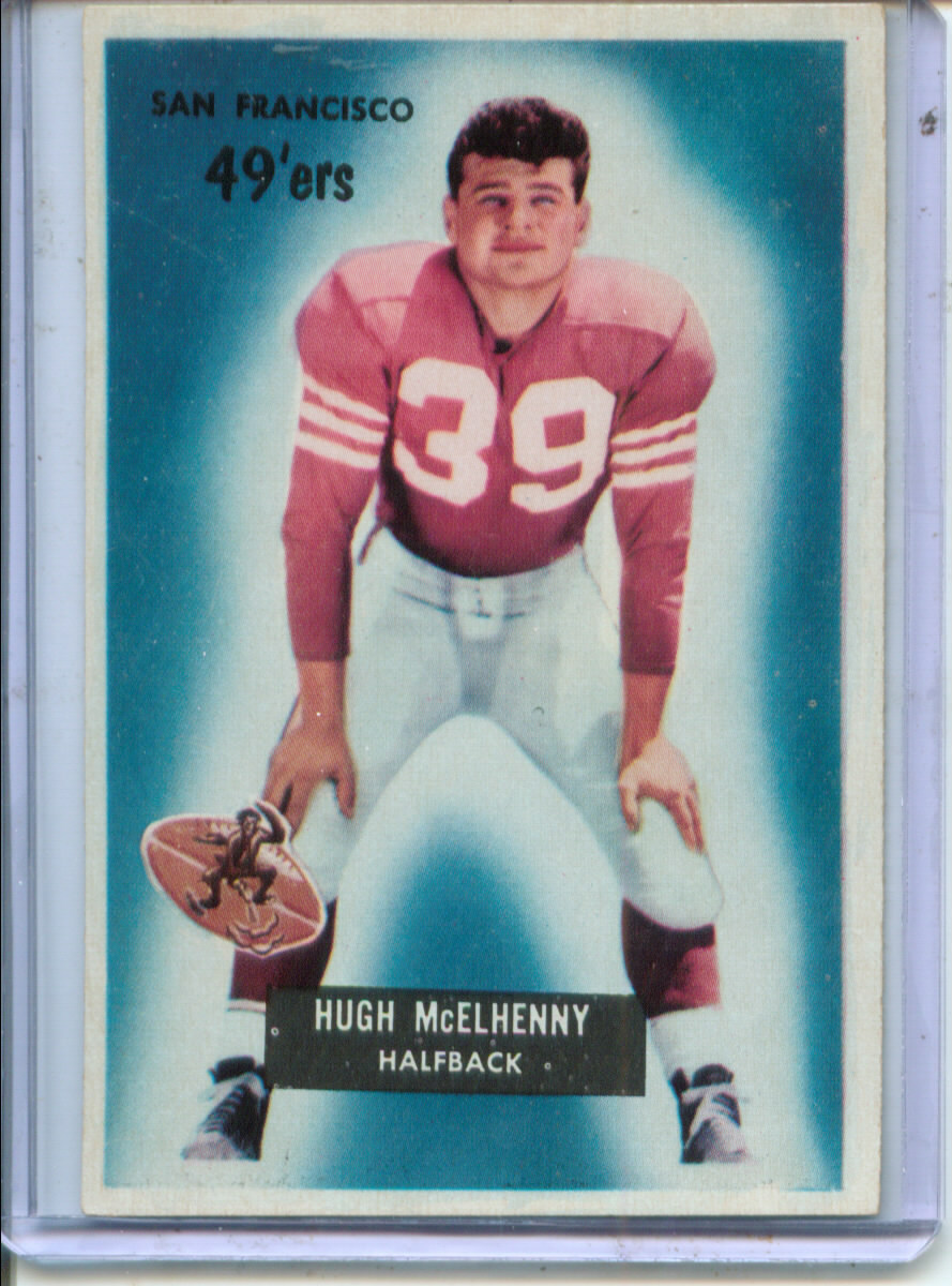 1955 Bowman #75 Hugh McElhenny