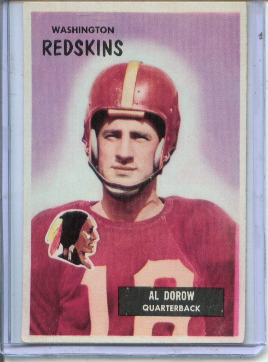 1955 Bowman #77 Al Dorow RC