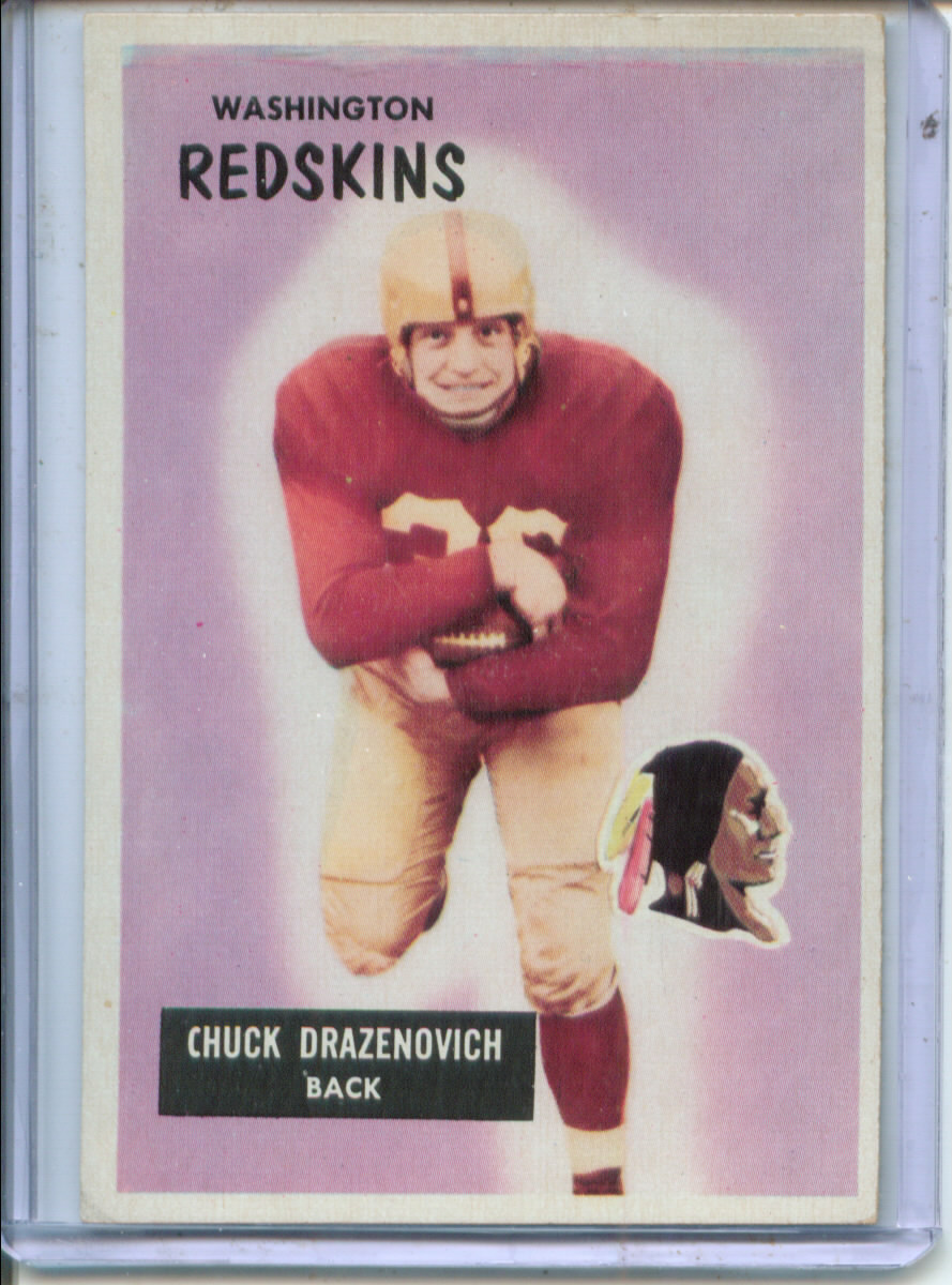 1955 Bowman #80 Chuck Drazenovich