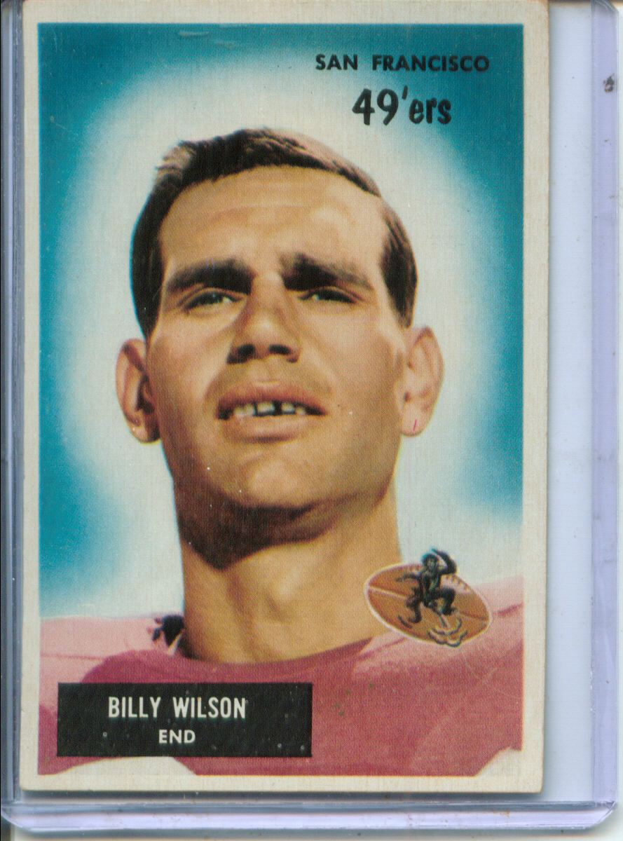 1955 Bowman #81 Billy Wilson RC
