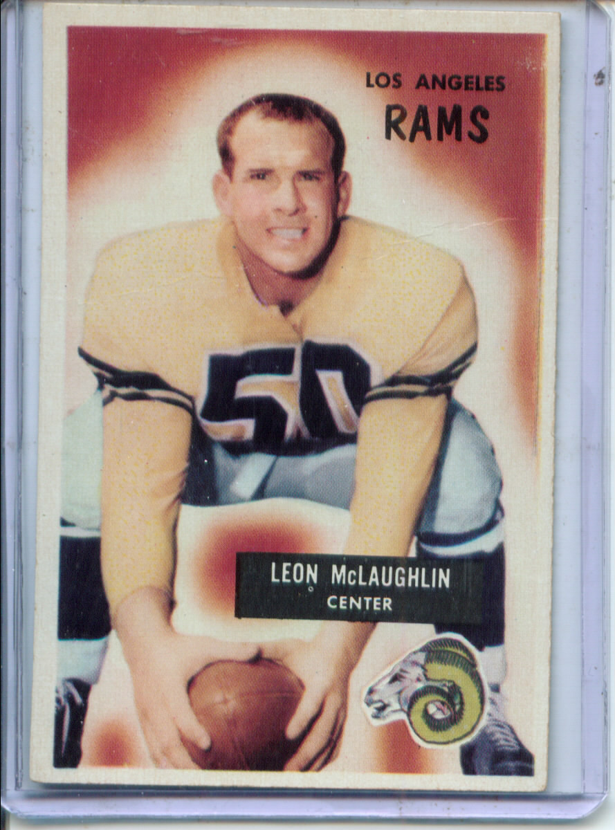 1955 Bowman #88 Leon McLaughlin