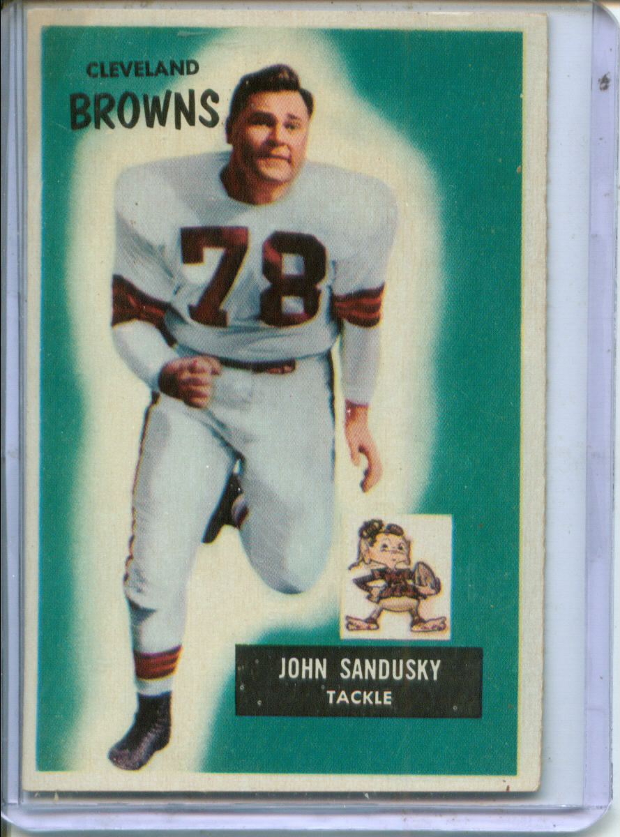 1955 Bowman #91 John Sandusky