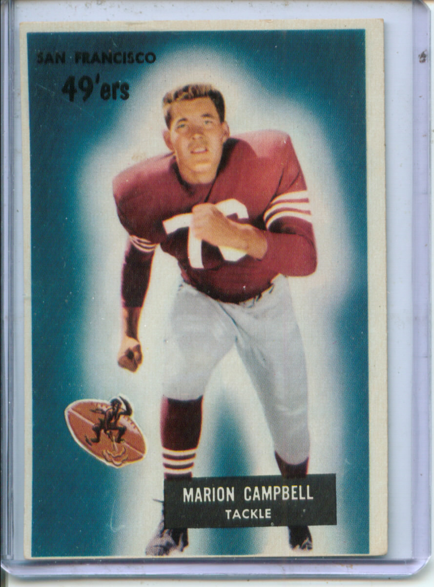 1955 Bowman #94 Marion Campbell