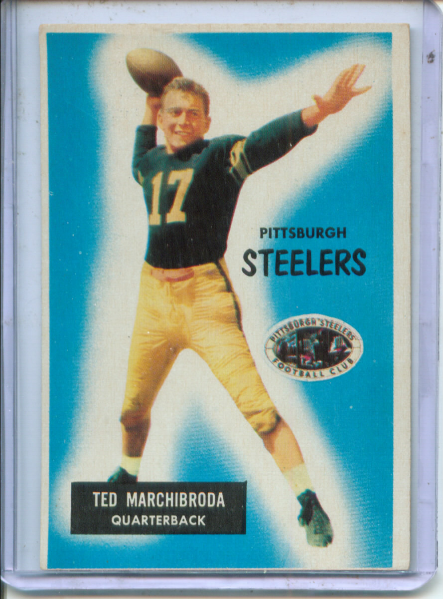 1955 Bowman #106 Ted Marchibroda