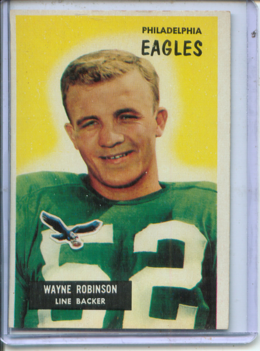 1955 Bowman #108 Wayne Robinson