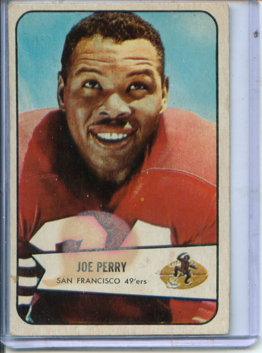 1954 Bowman #6 Joe Perry
