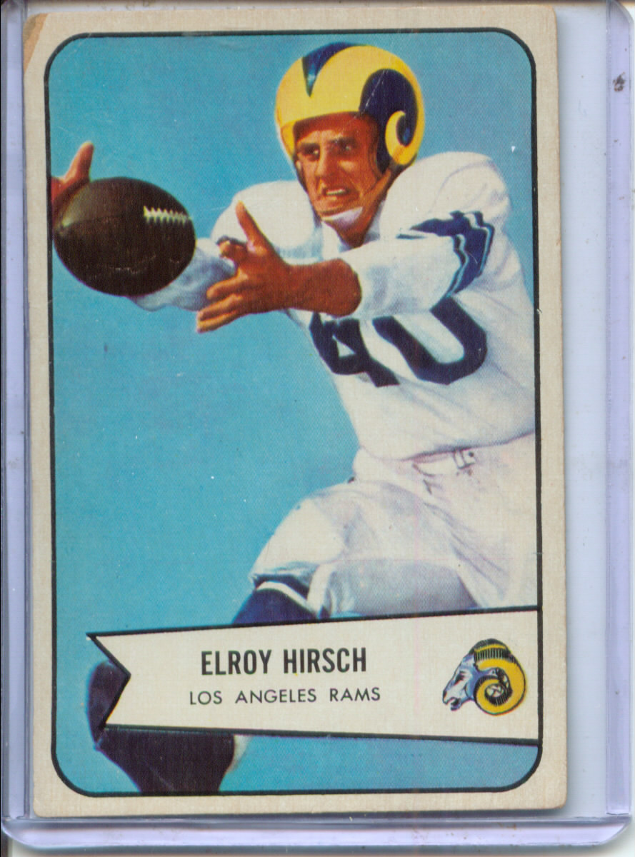 1954 Bowman #32 Elroy Hirsch