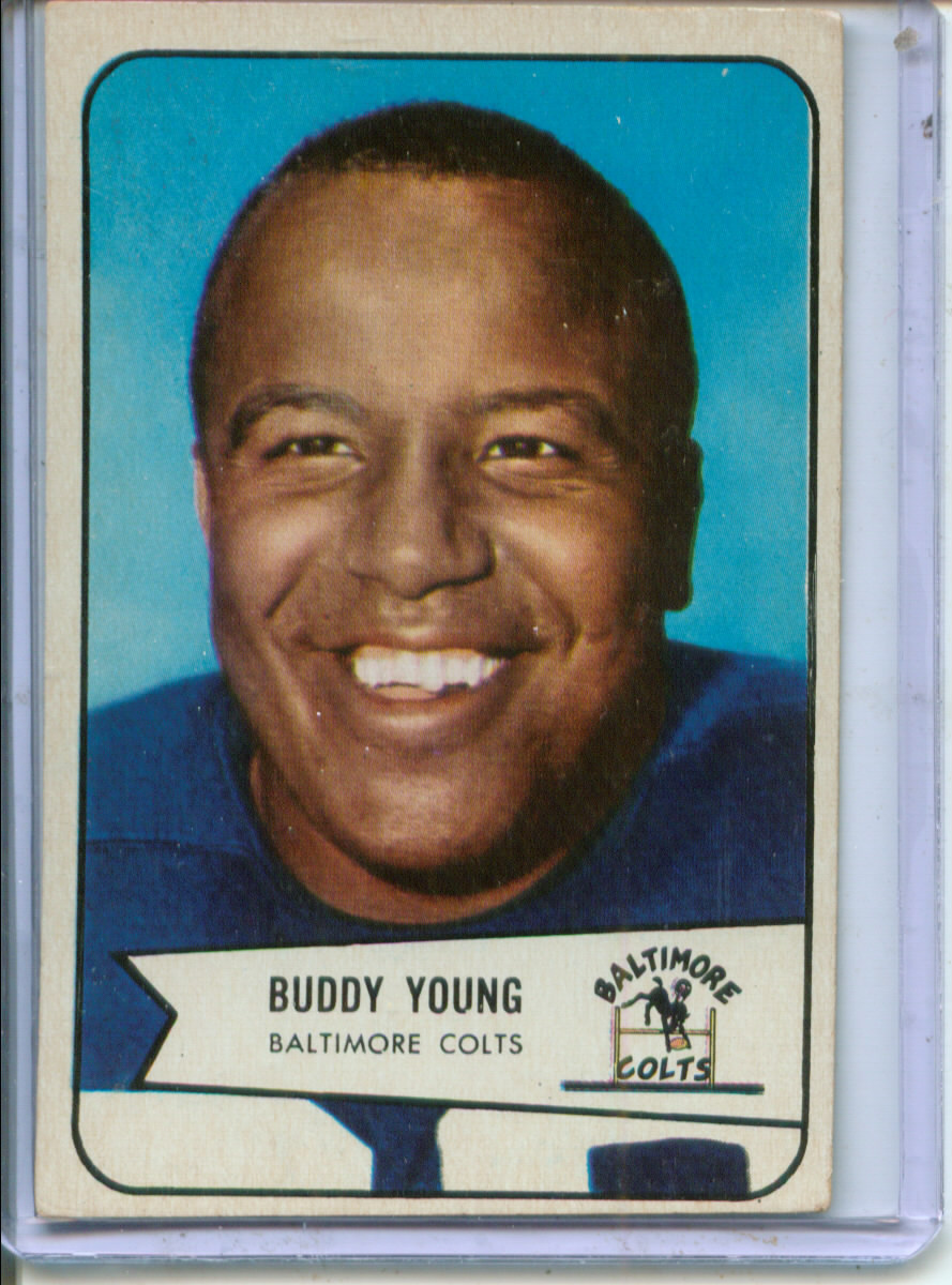 1954 Bowman #38 Buddy Young